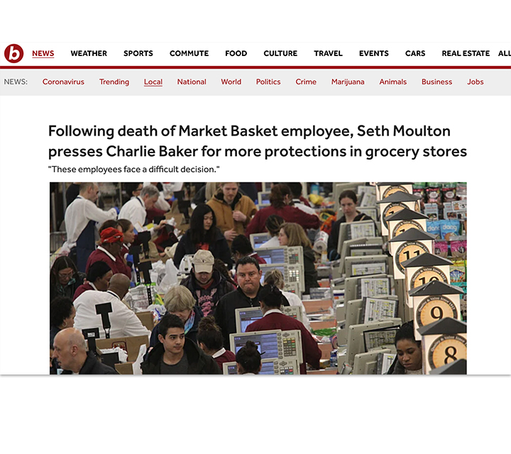 Boston - Grocery Store Protections