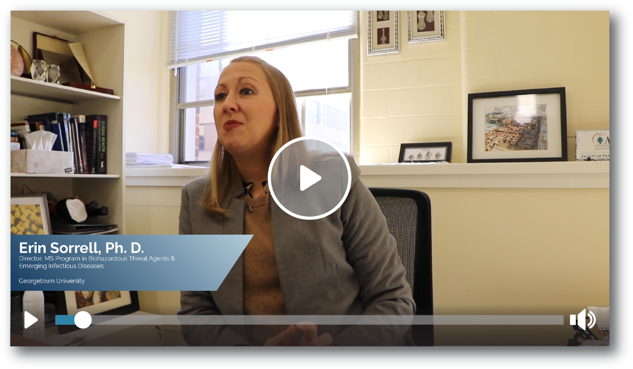 Video with Erin Sorrell PhD
